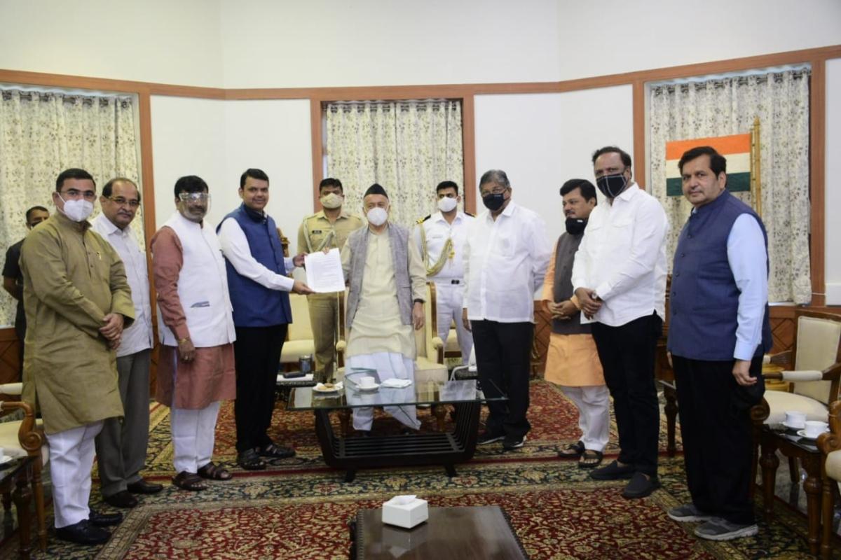 BJP urges Guv Koshyari to seek report from CM Uddhav Thackeray on corruption, governance and COVID-19