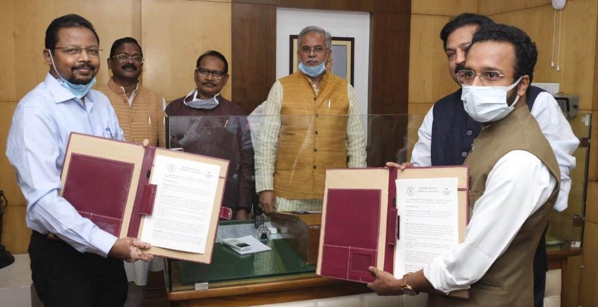 Chhattisgarh govt signs MoU for development with India Center Foundation
