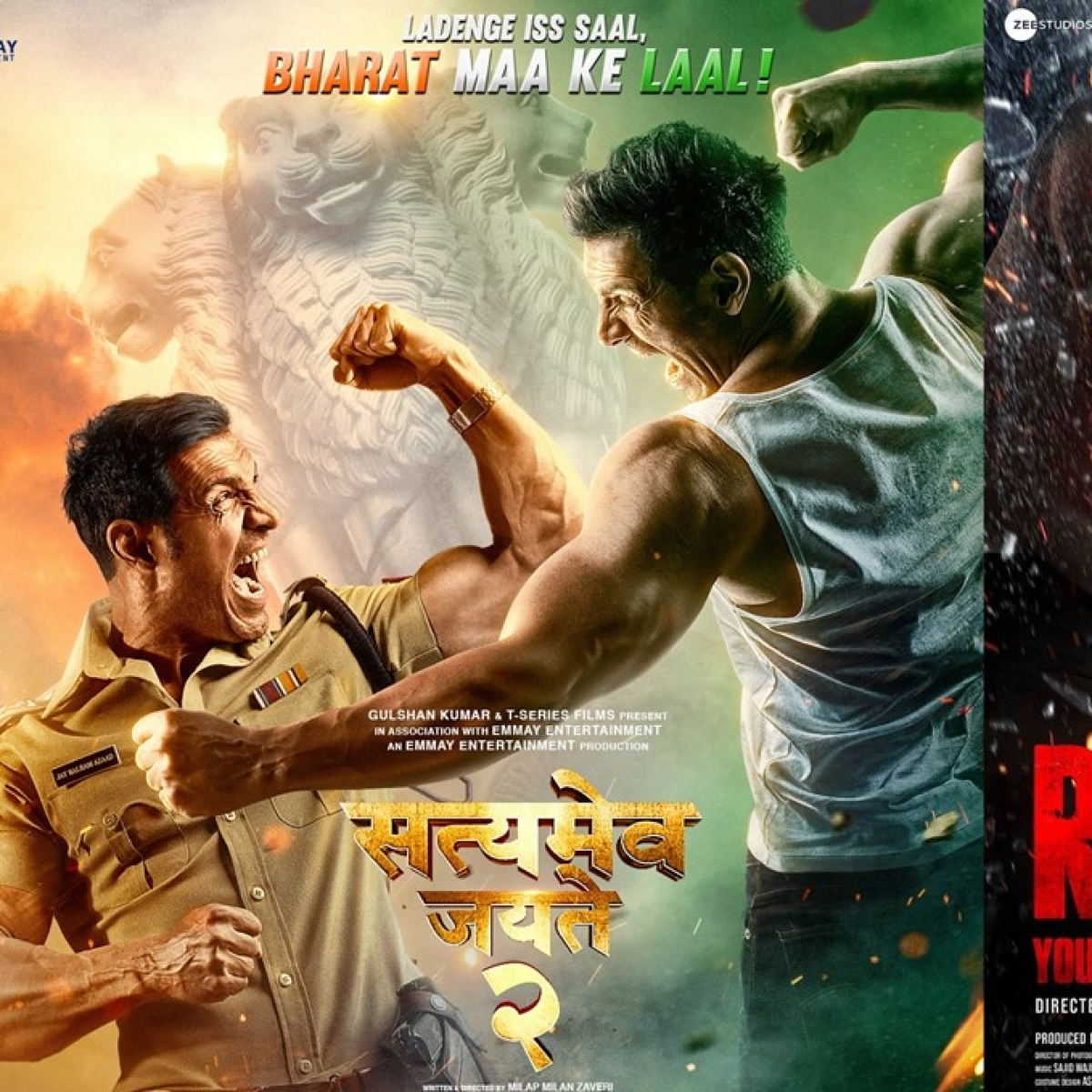 John Abraham's 'Satyameva Jayate 2' to clash with Salman Khan's 'Radhe' on Eid 2021