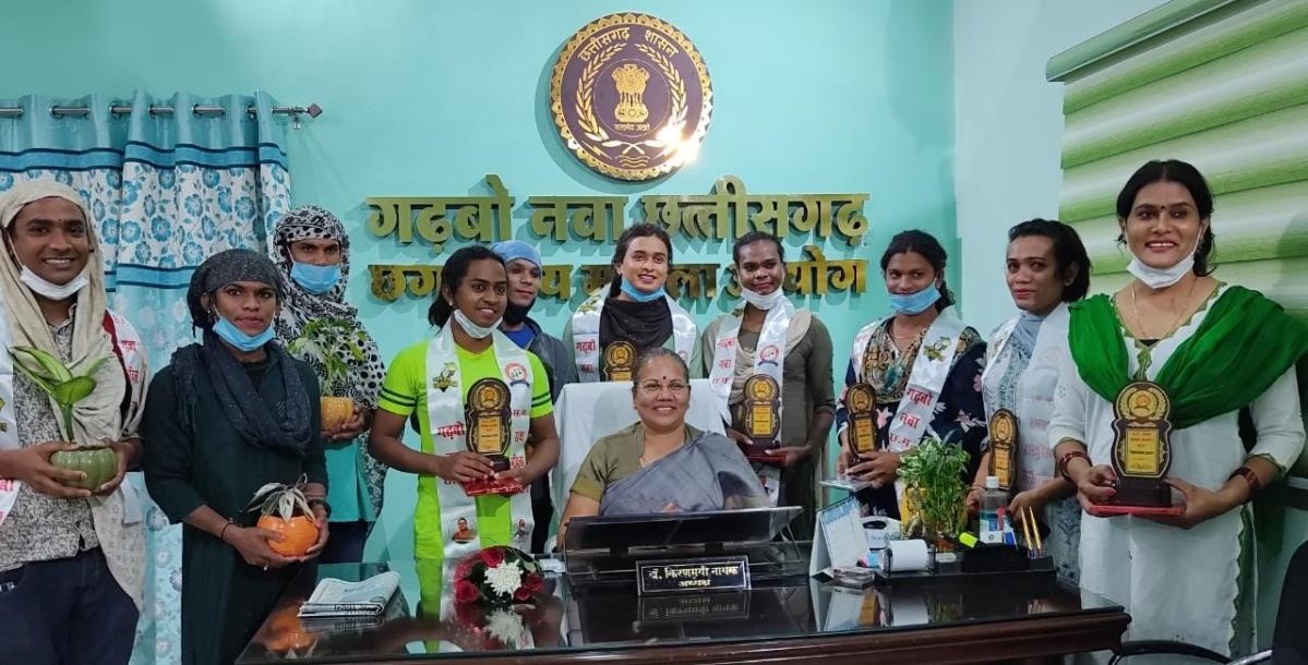 Chhattisgarh: Third gender cops meet CGSWC chairperson, start new chapter