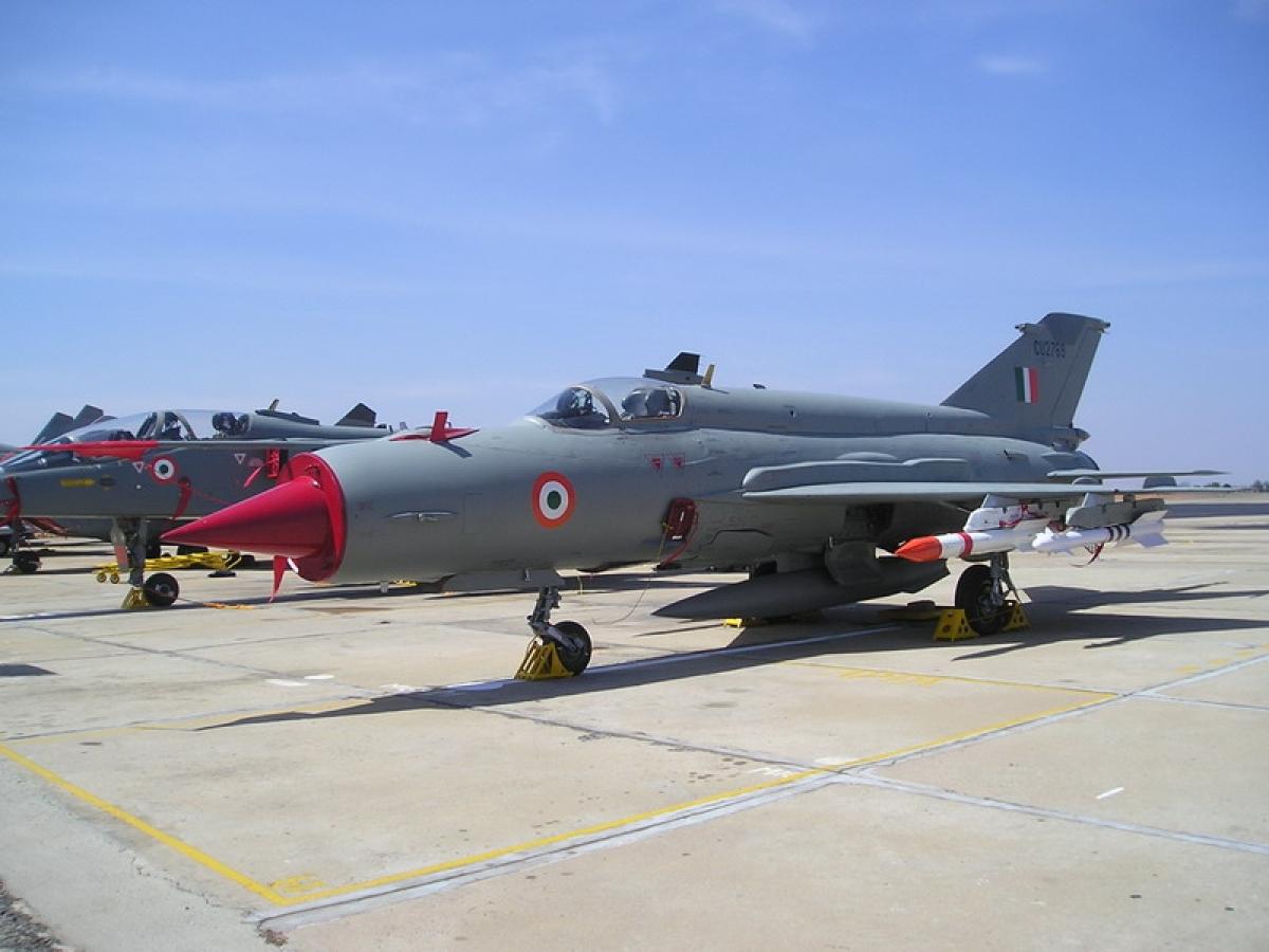 IAF pilot killed in Mig-21 Bison crash during training mission