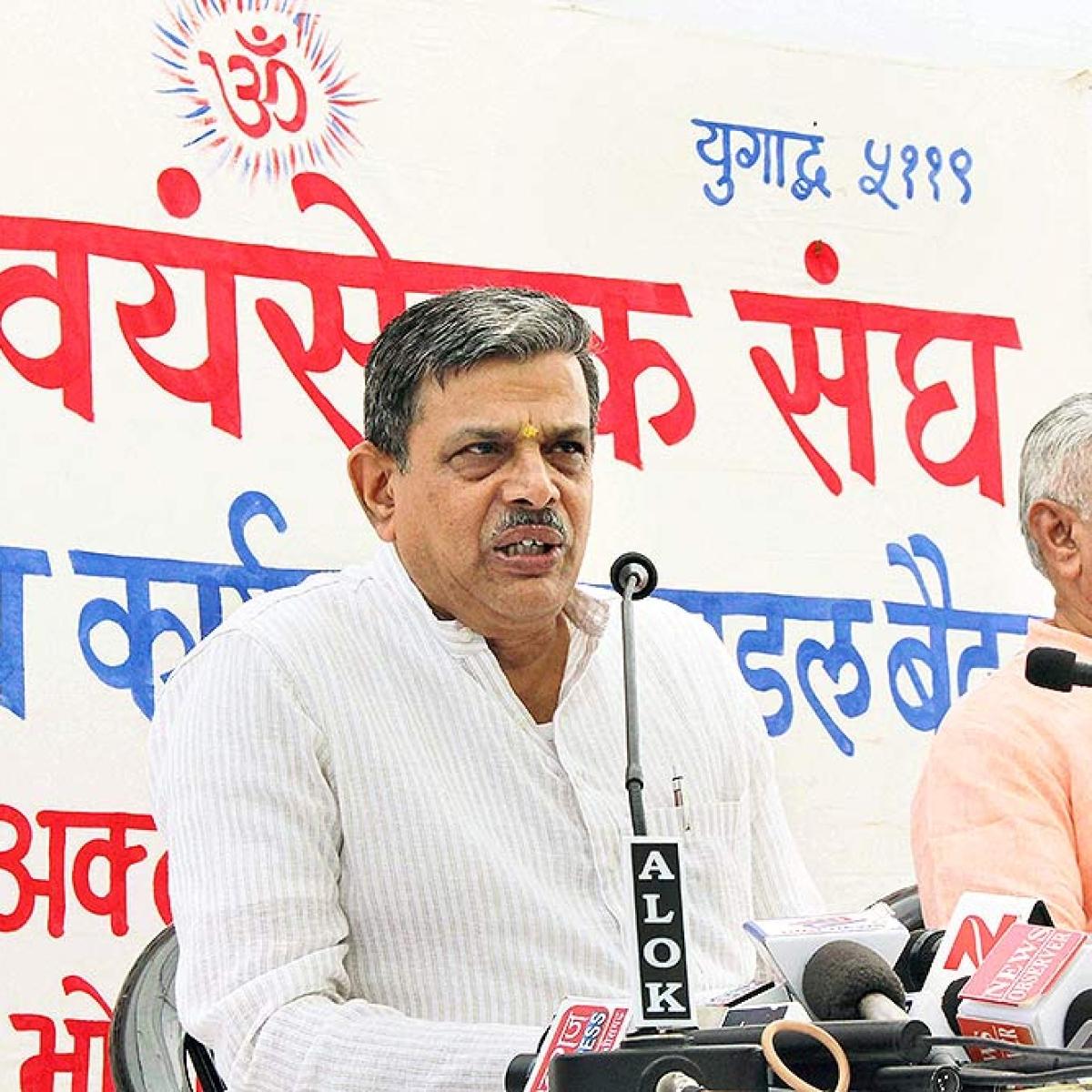 Dattatreya Hosabale elected Sarkaryavah of RSS, to replace Suresh Bhaiyyaji Joshi