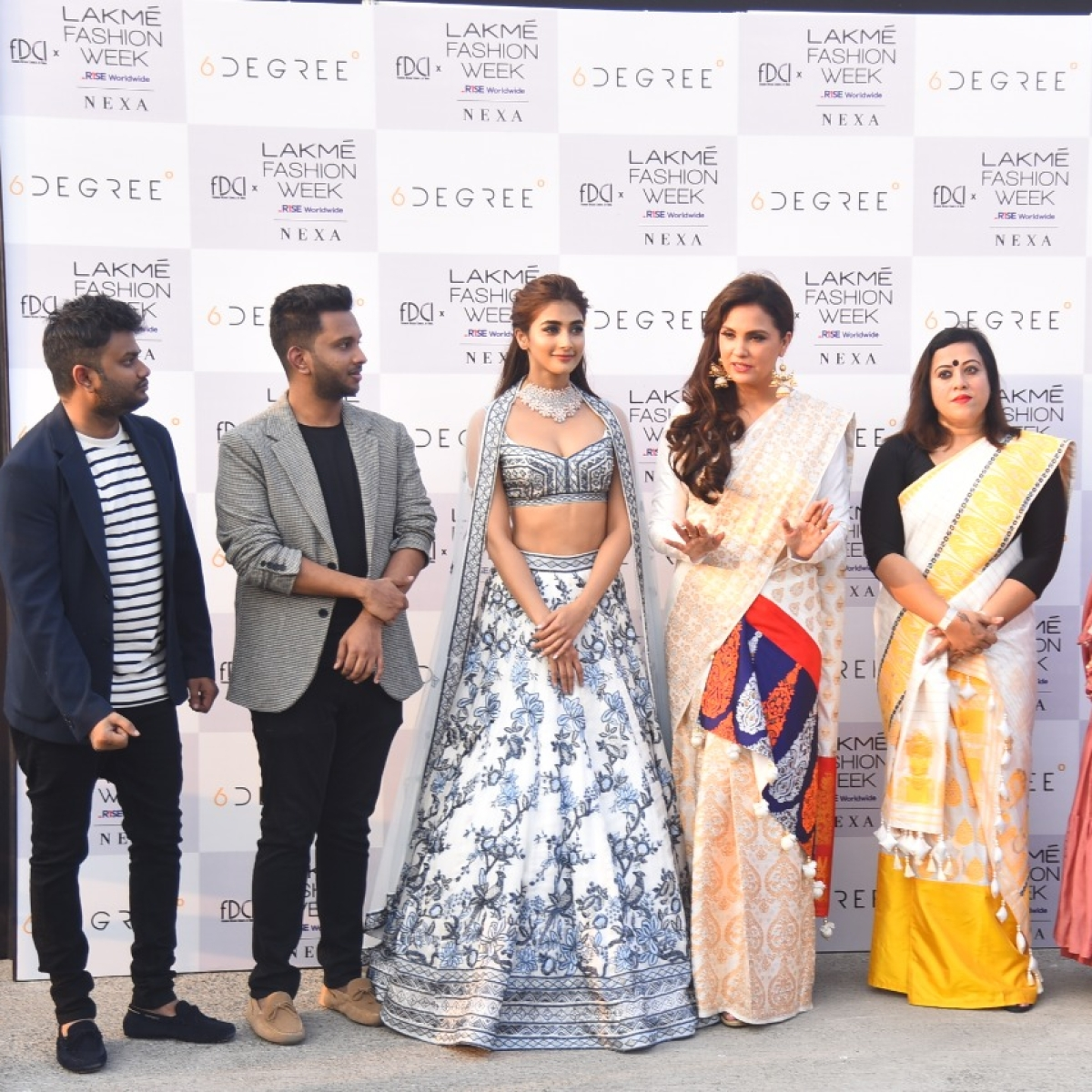 In Pics: Pooja Hegde, Lara Dutta Bhupathi, Hina Khan grace the ramp at FDCI X Lakme Fashion Week 2021