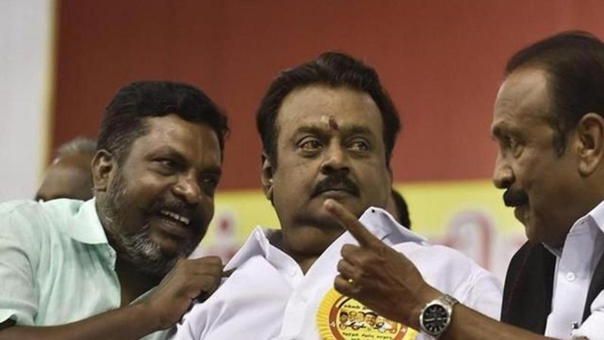 Tamil Nadu Assembly polls: DMDK takes an exit from AIADMK-BJP alliance