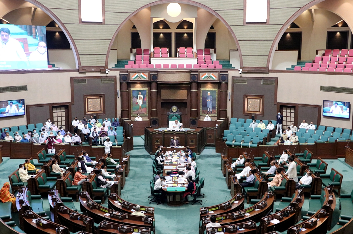 Madhya Pradesh State Assembly (Representative Photo)