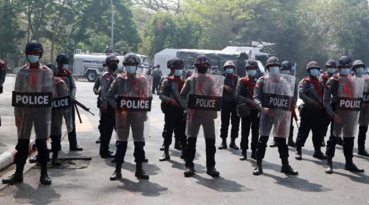 Mizoram govt told to handover cops who fled coup-Myanmar