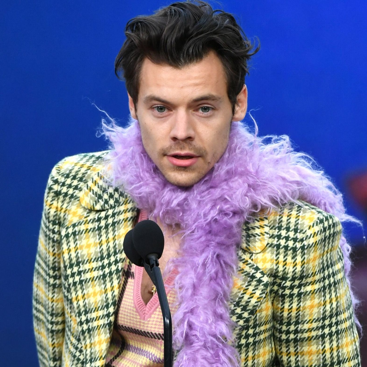Watch: Harry Styles drops the F-bomb during Grammys 2021 acceptance speech