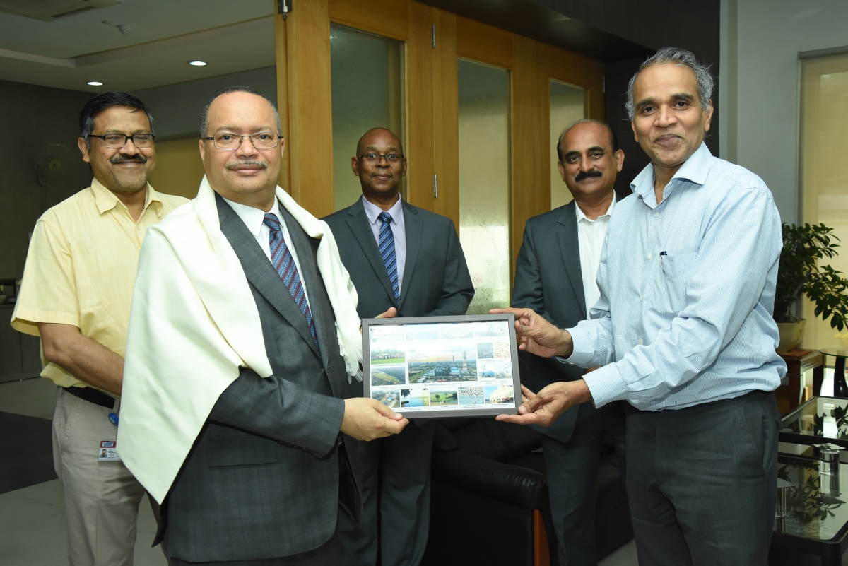 Delegates from the Republic of Mozambique visit NTPC Dadri