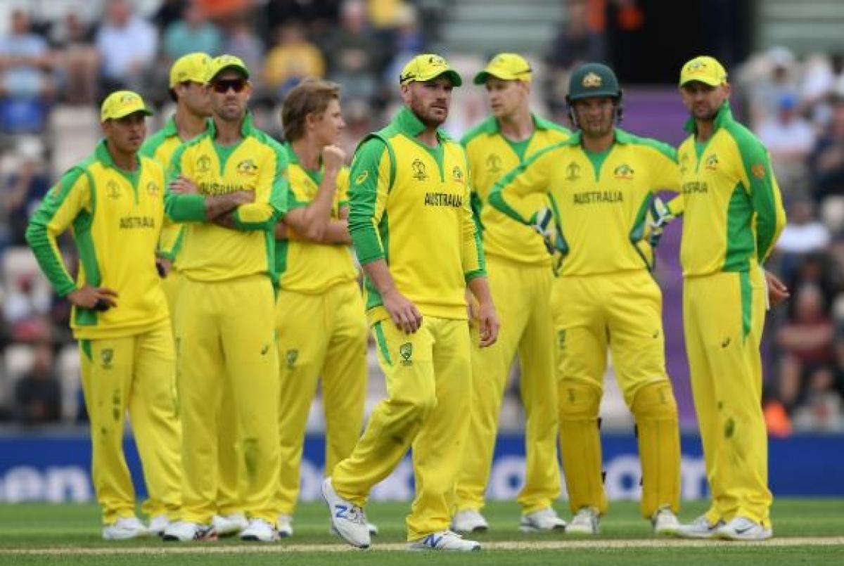 File picture of Australian team