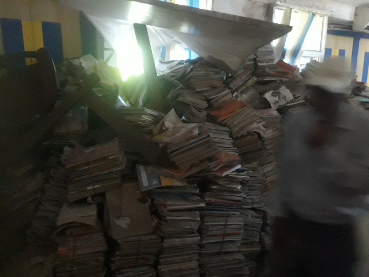 Book Bank Scheme: 1 lakh used books collected by Bhopal Municipal Corporation have turned into scrap