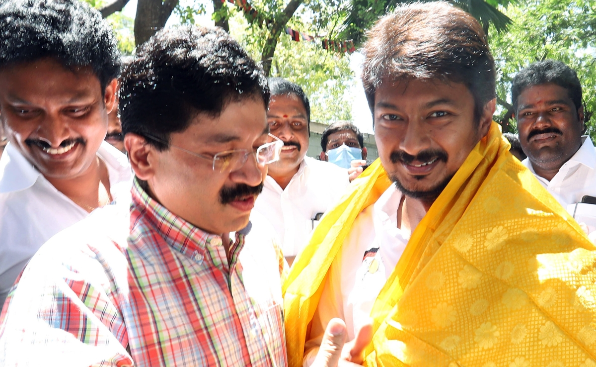 DMK sees son rise;  Stalin's son Udhayanidhi will contest polls