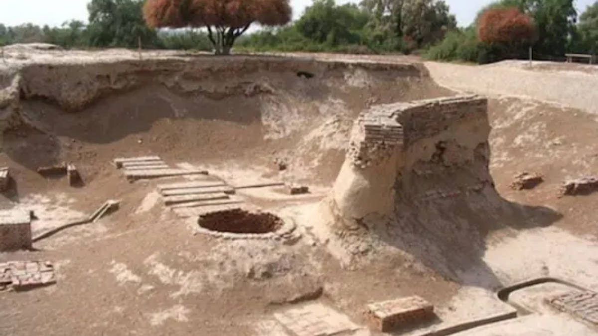 Laddoos made with cereals and pulses dating back to 2600 BCE found during excavation at Harappan site