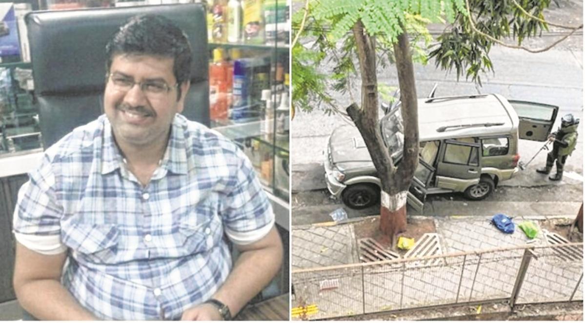 Antilla bomb scare: NIA officials visit Mansukh Hiran's family