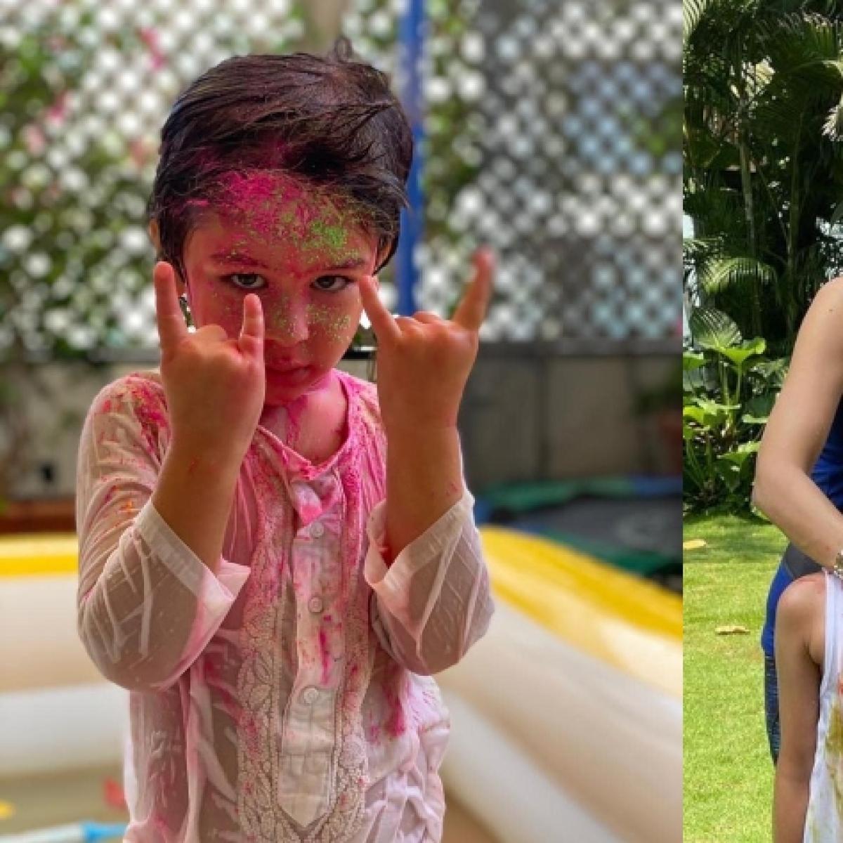 Holi 2021: From Kareena Kapoor Khan to Shilpa Shetty Kundra, here's how Bollywood stars celebrated the  festival