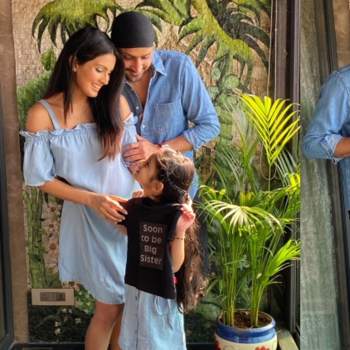 'Coming soon': Harbhajan Singh expecting second child with wife Geeta Basra; actress shares adorable pics