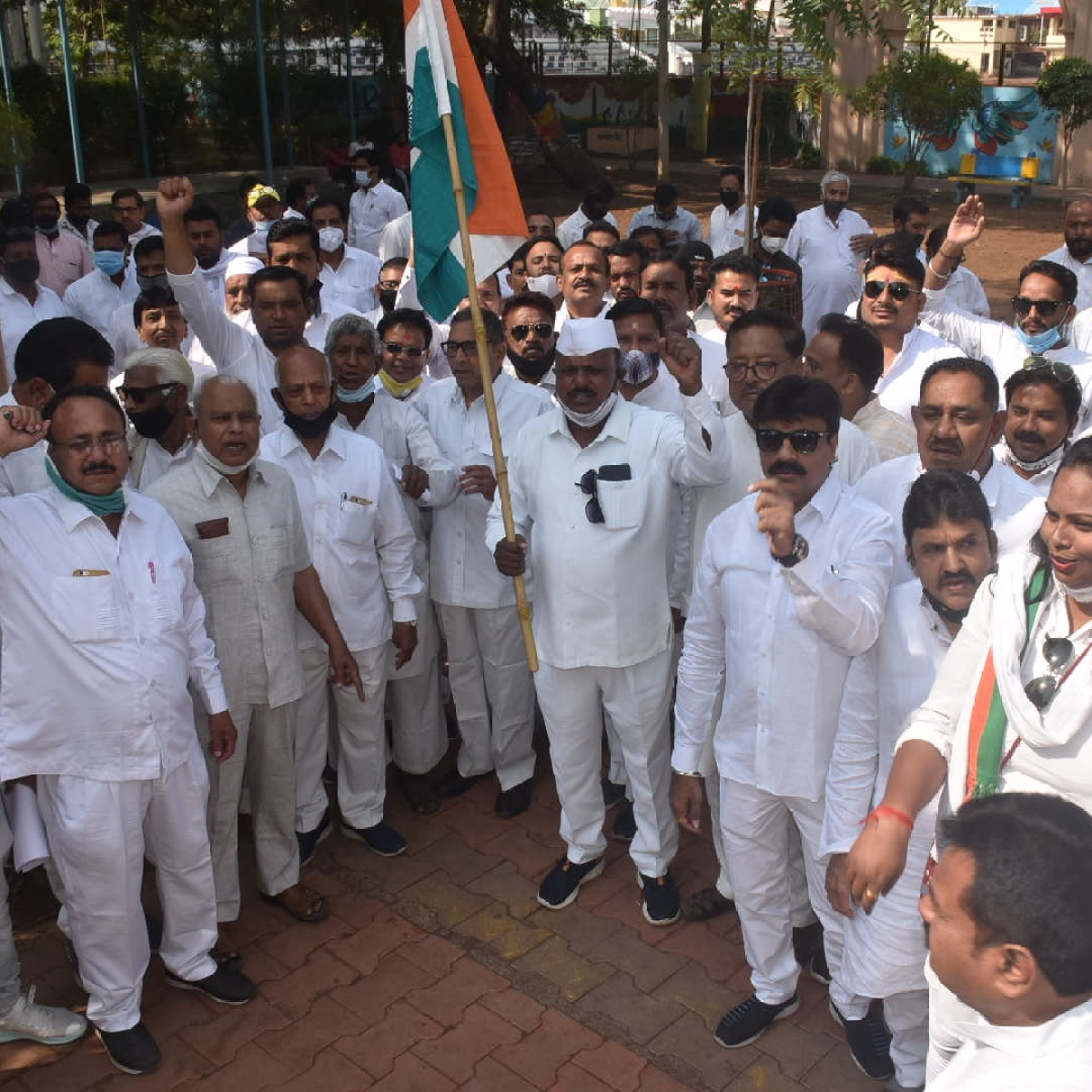 Ujjain: Congress observes 'Save Democracy, Save Constitution Day'