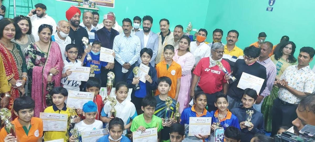 Indore: Badminton titles to Anushka, Bhakti, Siddhant and Yashika in sub junior ranking tournament