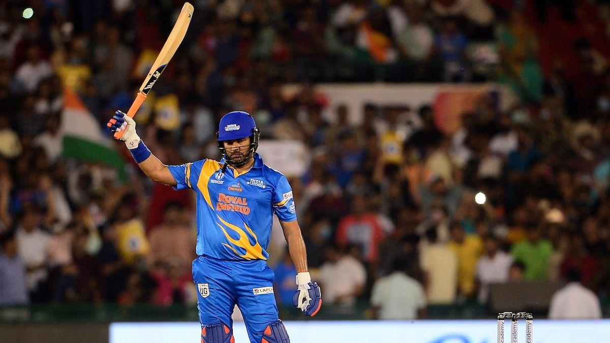 'Vintage Yuvi': Twitter hails Yuvraj Singh after he slams 4 sixes in over against WI in Road Safety World Series