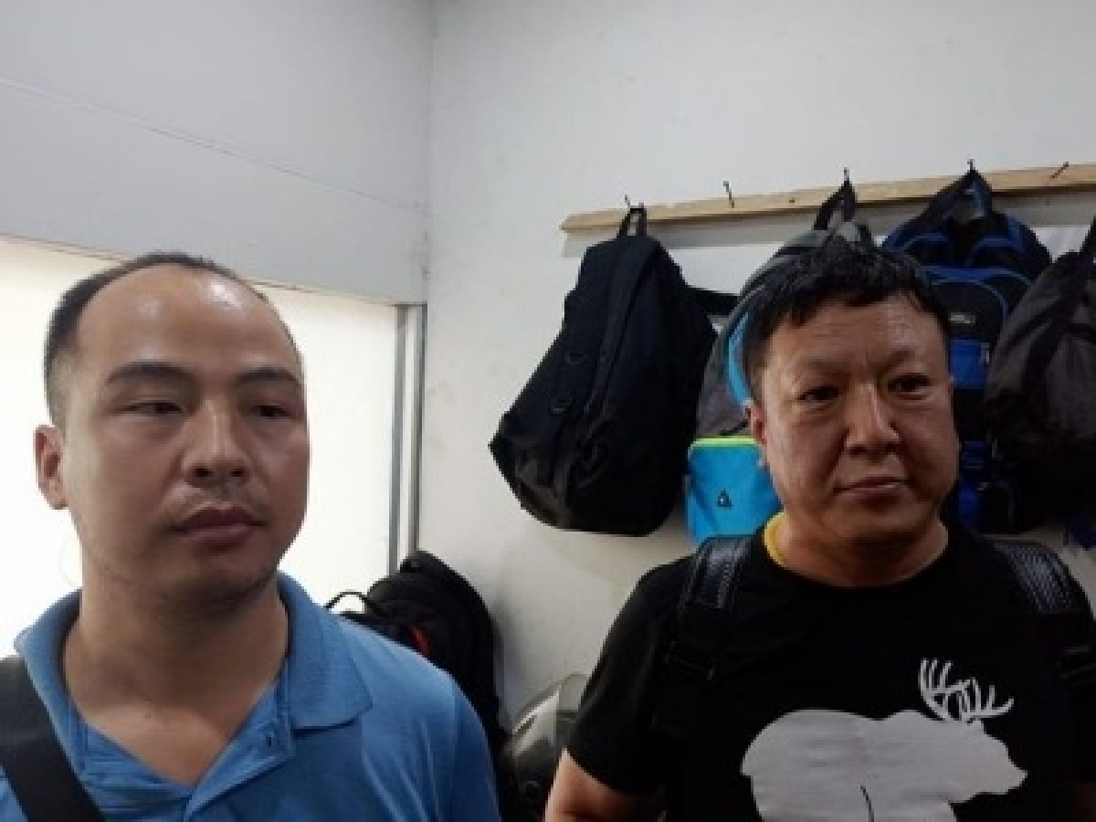Arrested Chinese tough spies: Intel officials