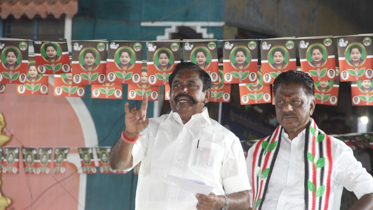 'God will punish DMK leader A Raja': Tamil Nadu CM Palaniswami turns emotional