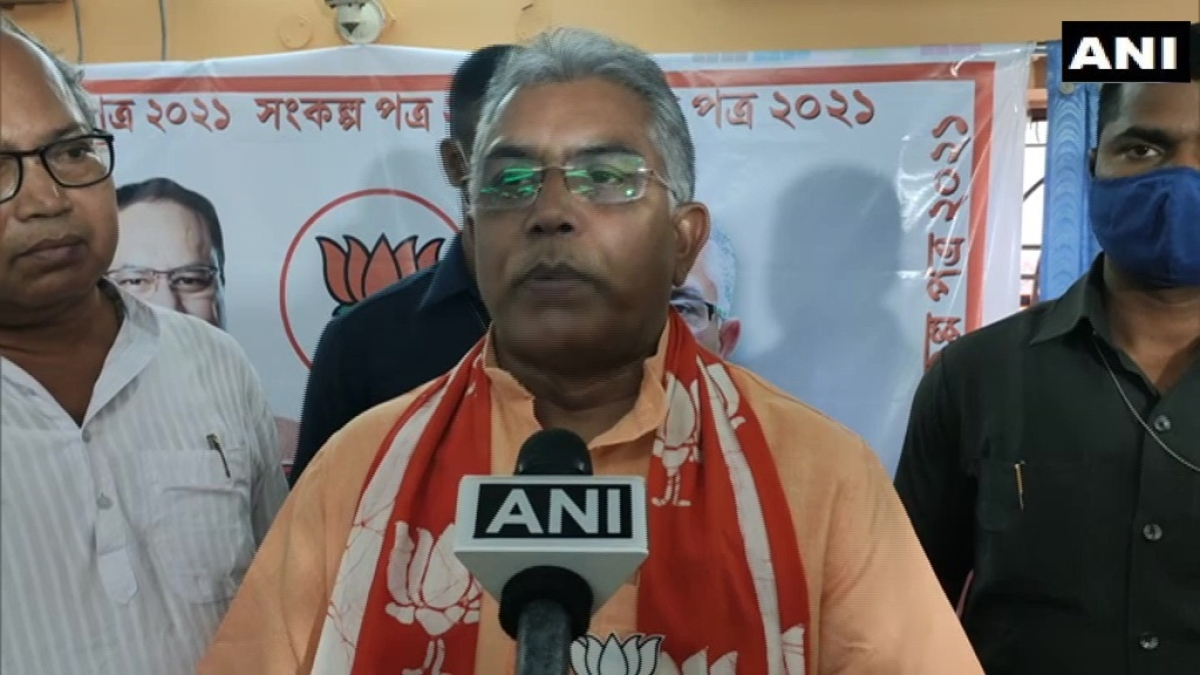'Woman showing her legs in saree is inappropriate': Dilip Ghosh defends 'wear bermudas' remark against Mamata