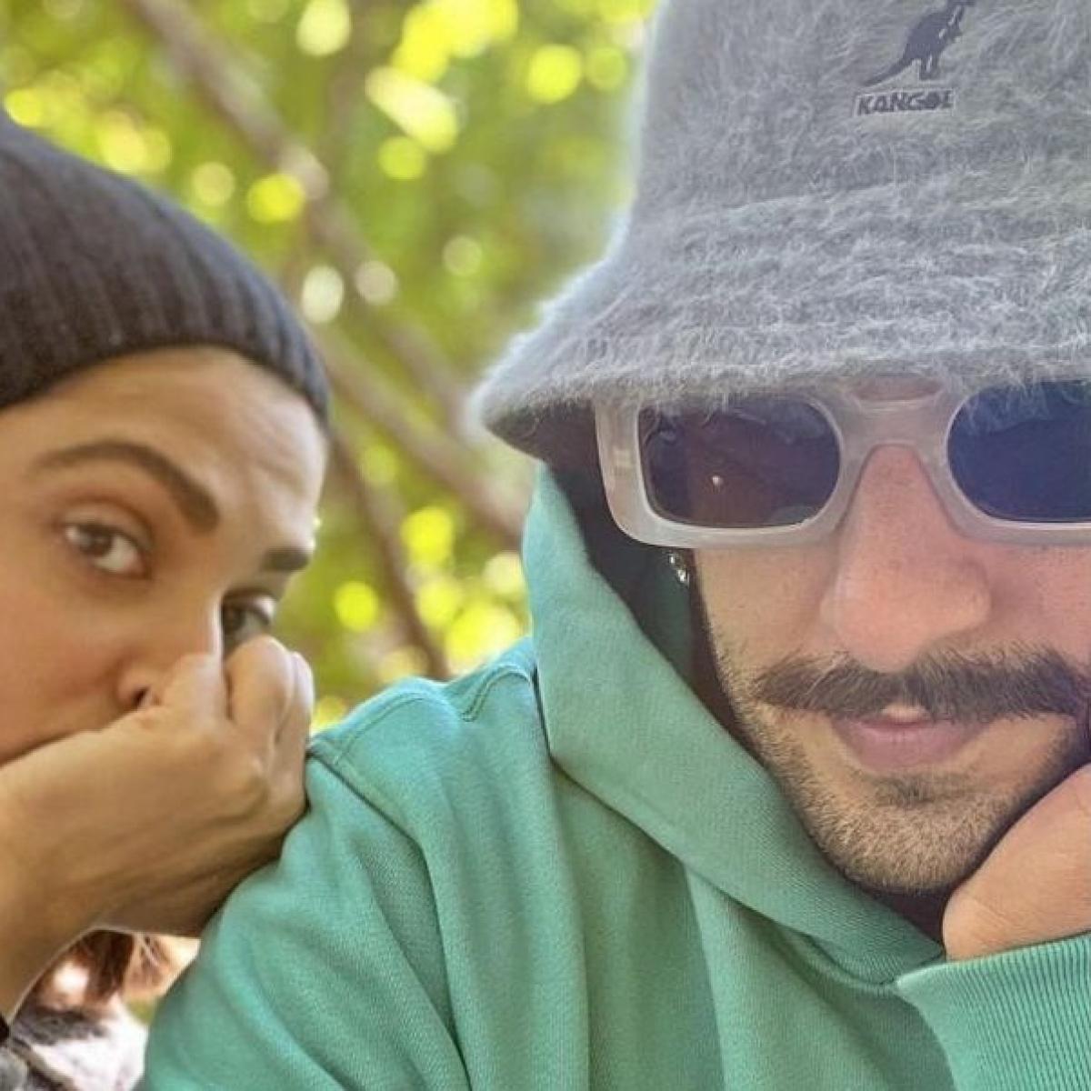 Ranveer Singh shares a cute selfie with wifey Deepika Padukone