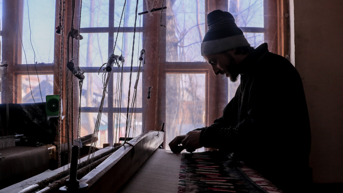 PHOTOS: Behind the scenes of Kashmir's artistic Kani Shawl
