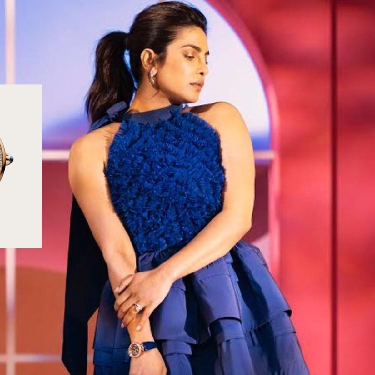Priyanka Chopra wears Rs 32.4 lakh alligator strap watch for Oscars 2021 nominations with Nick Jonas
