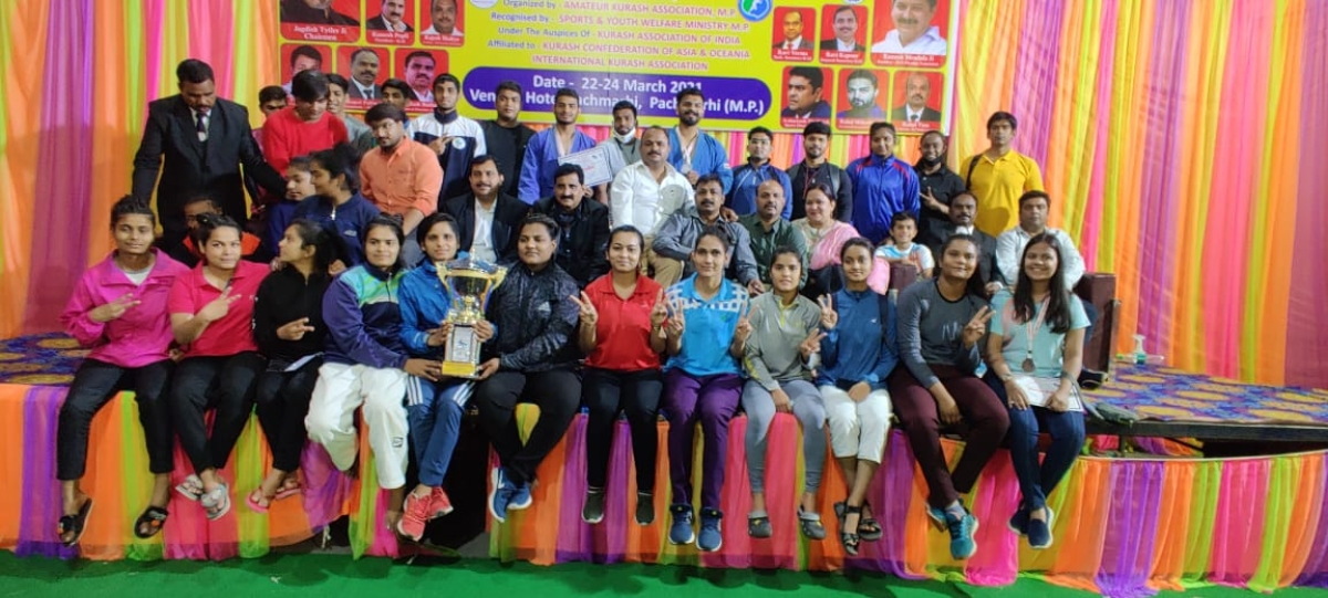 Indore sports update: 10th national Kurash competition concludes, Hetal and Mahesh win bronze