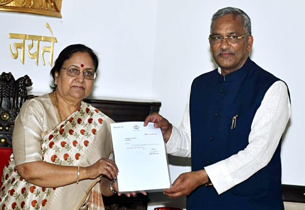 BJP drops Uttarakhand CM Trivendra Singh Rawat; Anil Baluni tipped to succeed
