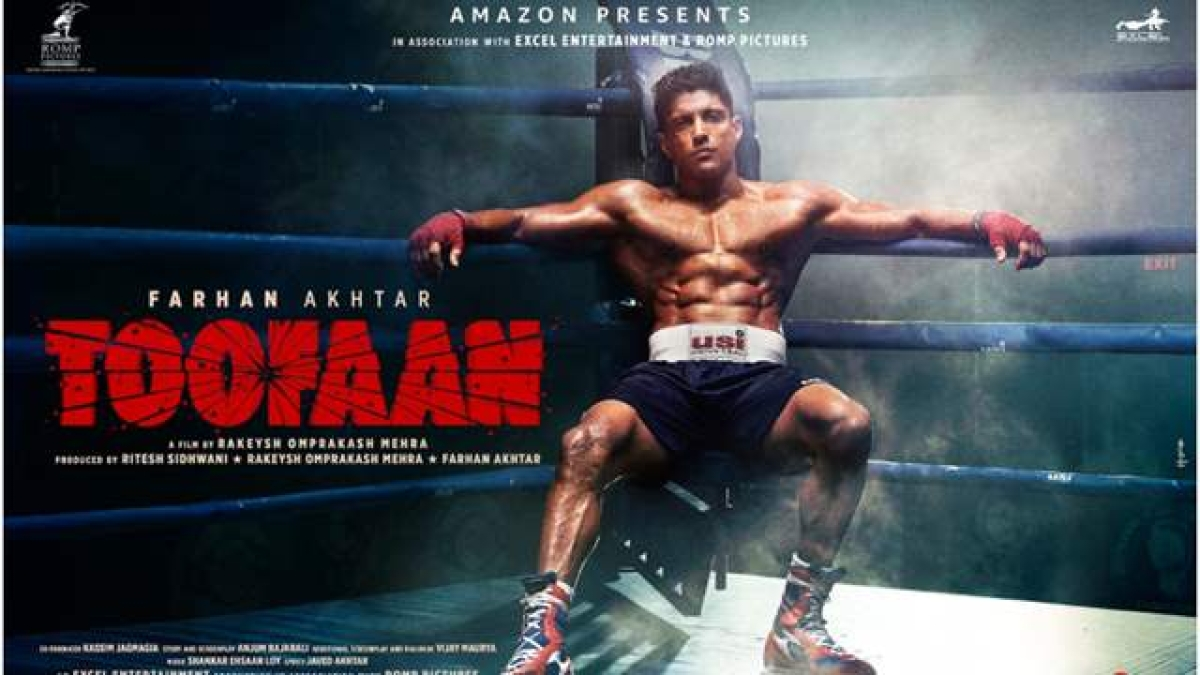 Watch: Farhan Akhtar packs a mean punch in the teaser of 'Toofaan'