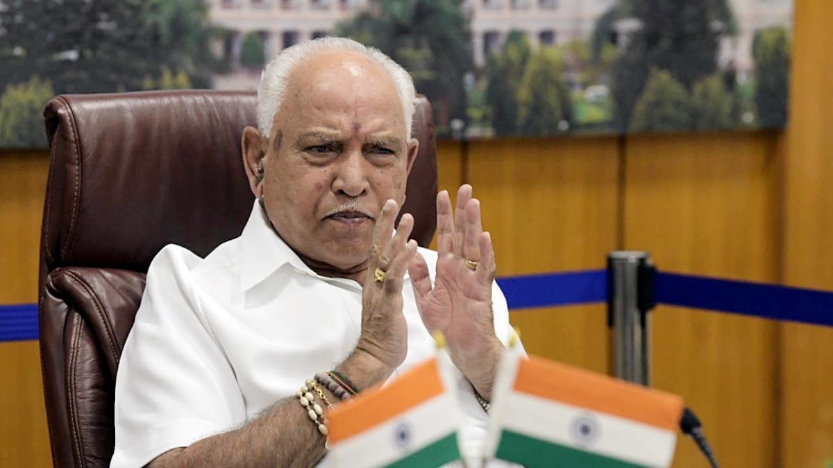 Karnataka Chief Minister B S Yediyurappa