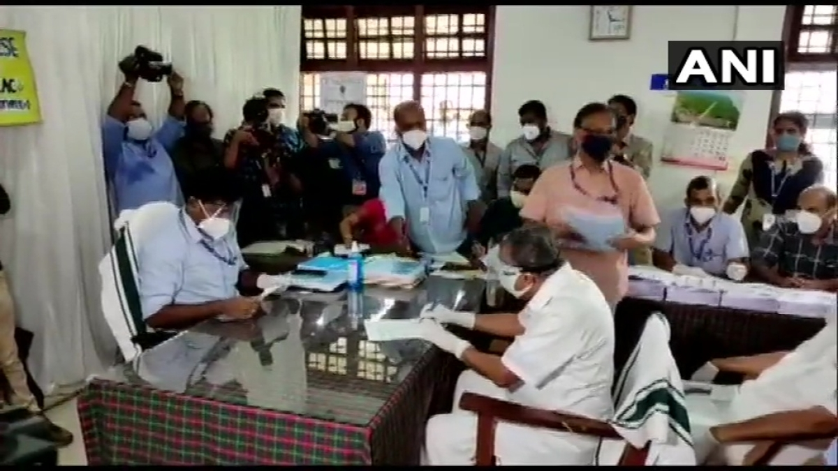 Kerala elections 2021: CM Pinarayi Vijayan files nomination papers from Dharmadam constituency