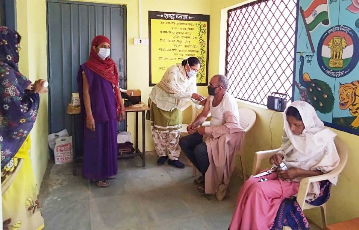 Khandwa: Over 3,500 people inoculated in district on Wednesday