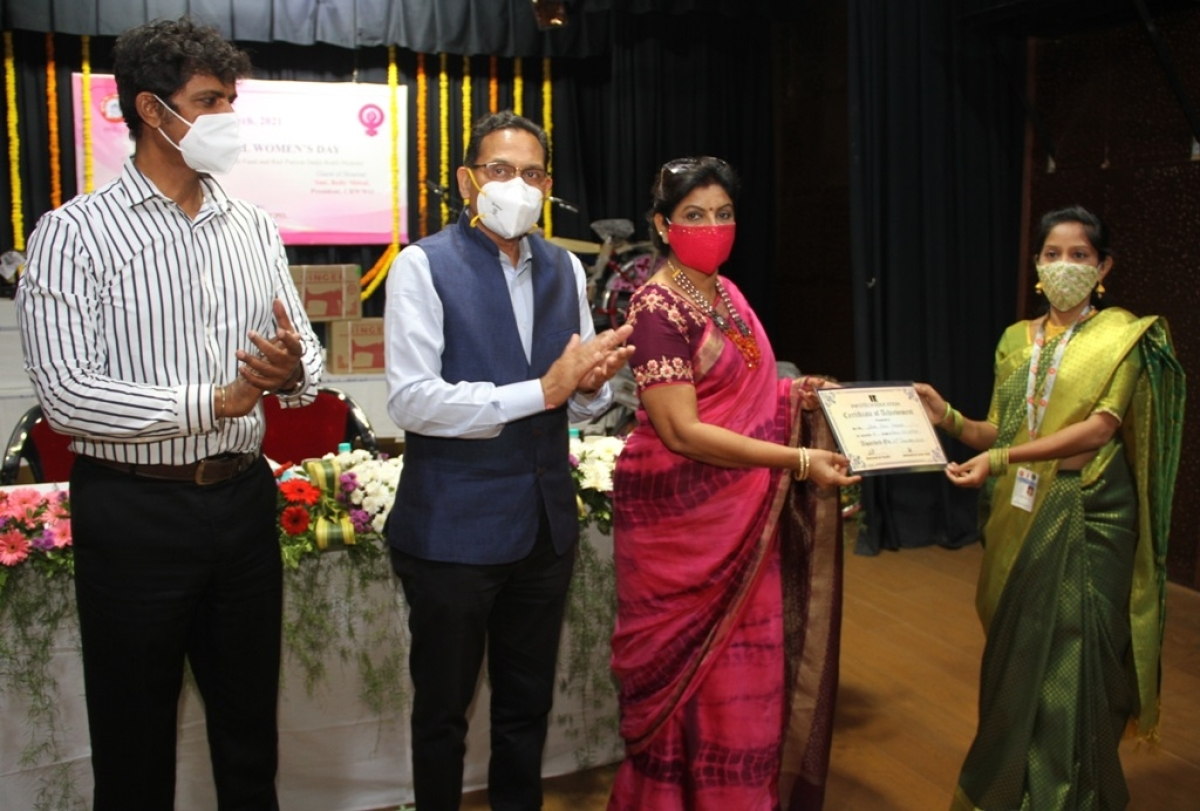 Central Railway celebrates International Women's Day