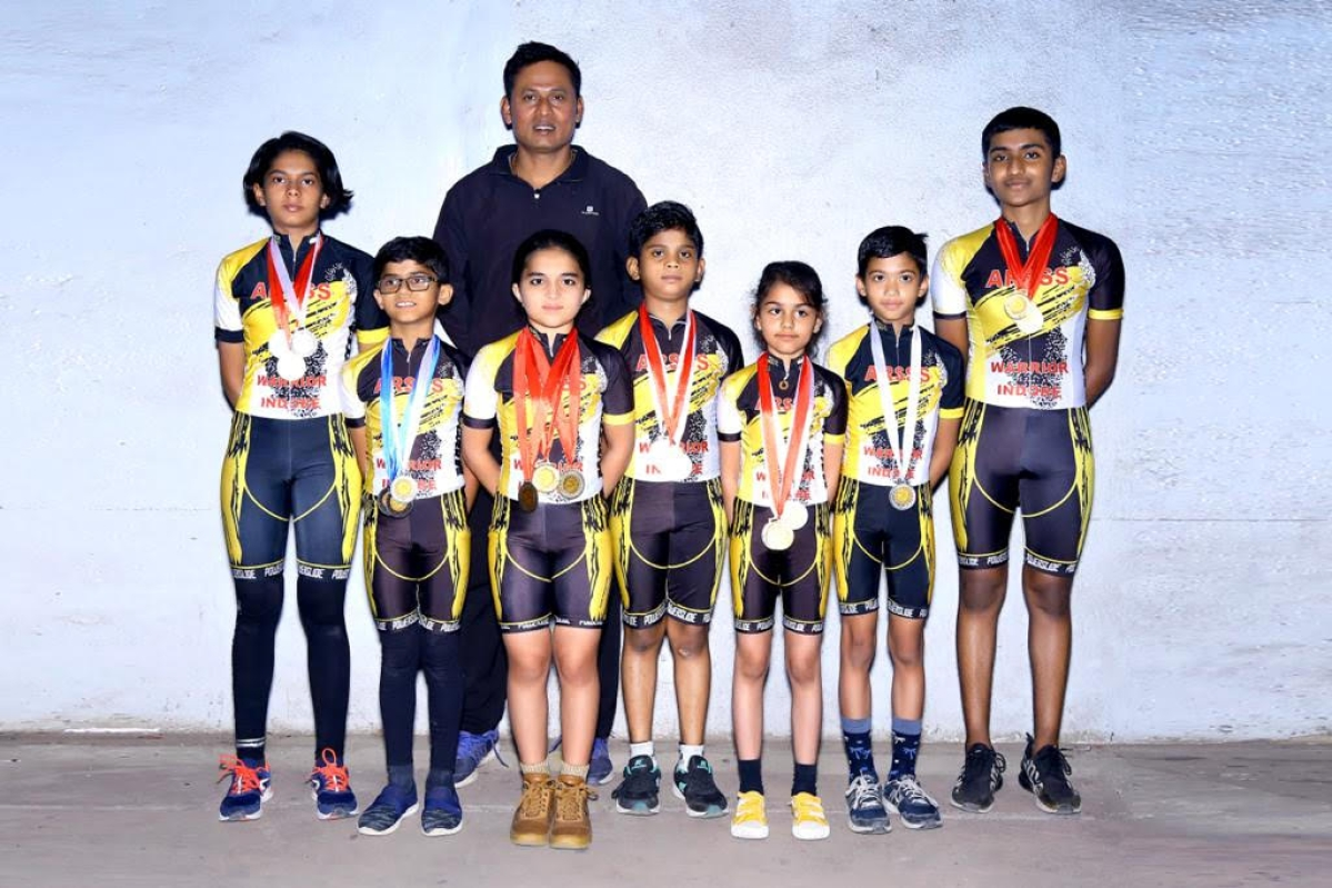 Indore: Players of Ahilya Roller Skating Organisation excel in state level competition