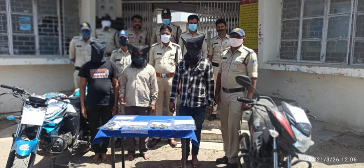 Madhya Pradesh: Loot case cracked;3 arrested, valuables worth Rs 1.94L recovered