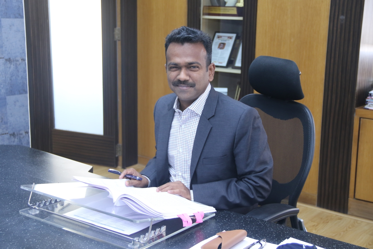 By mid-April, land allocation to 54 companies looking at investing Rs 1.12 lakh crore in Maharashtra will be held, says P Anbalagan, CEO of MIDC