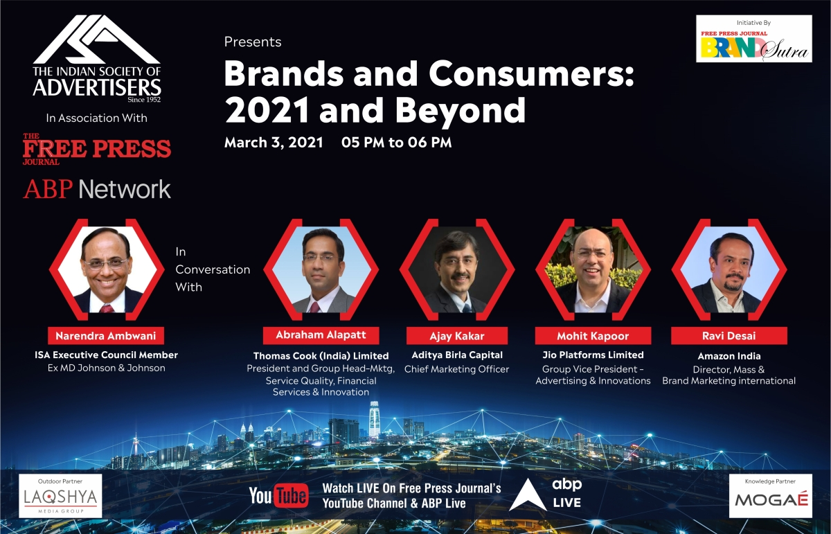 Top marketers from service sector to decode 'Brands and Consumers: 2021 and Beyond' on March 3
