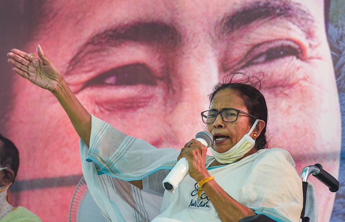 West Bengal Assembly polls: Mamata Banerjee accuses BJP of distributing money in Nandigram