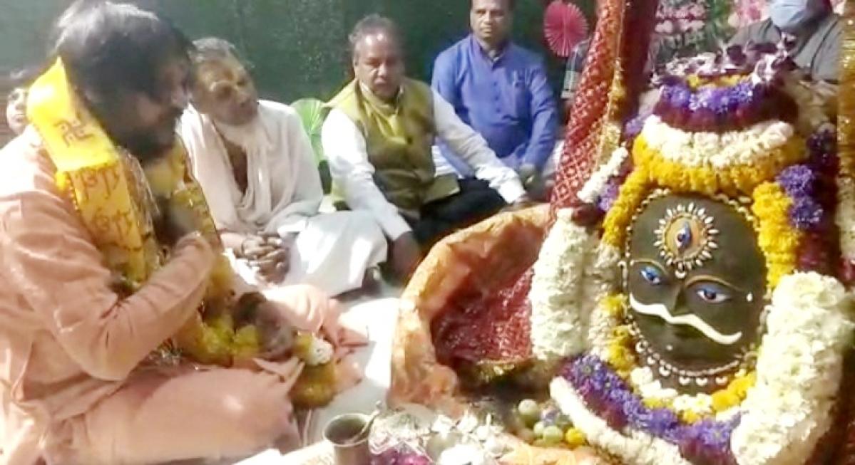 Ujjain: Sarveshwar Mahadev decked up ahead of Maha Shivratri
