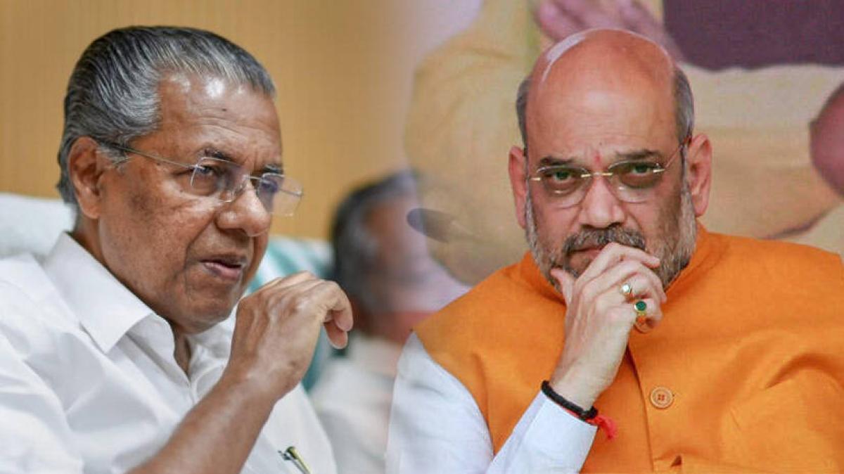 Amit Shah dares Kerala CM Pinarayi Vijayan to answer his questions on dollar smuggling