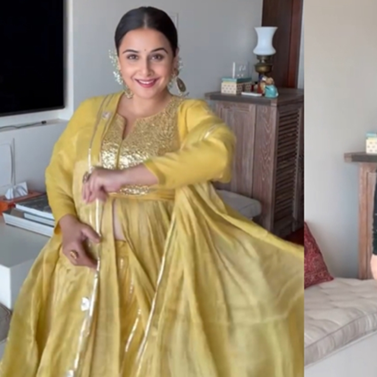 Watch: Vidya Balan's sassy reply to those who say she wears only Indian outfits