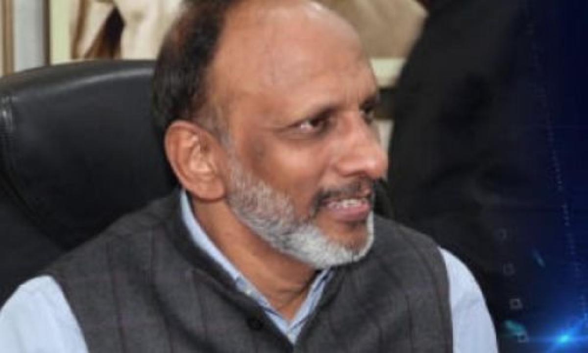 Former chief secretary M Gopal Reddy
