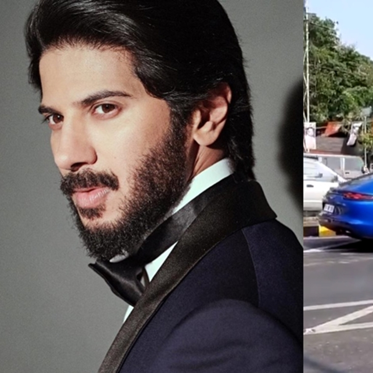 Dulquer Salmaan stopped by cops for driving his Rs 2.43 cr Porsche Panamera on the wrong side of the road