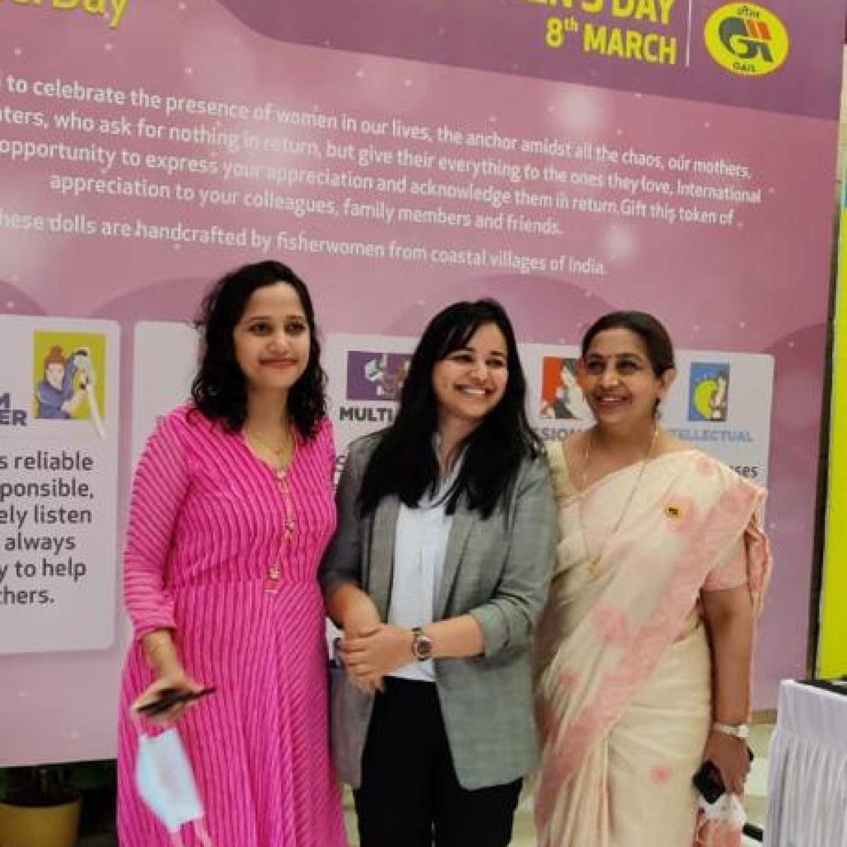 GAIL celebrates International Women's Day