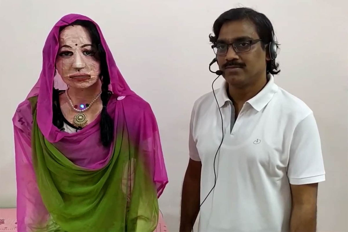 Move over Sophia, meet Shalu, India's first social humanoid robot