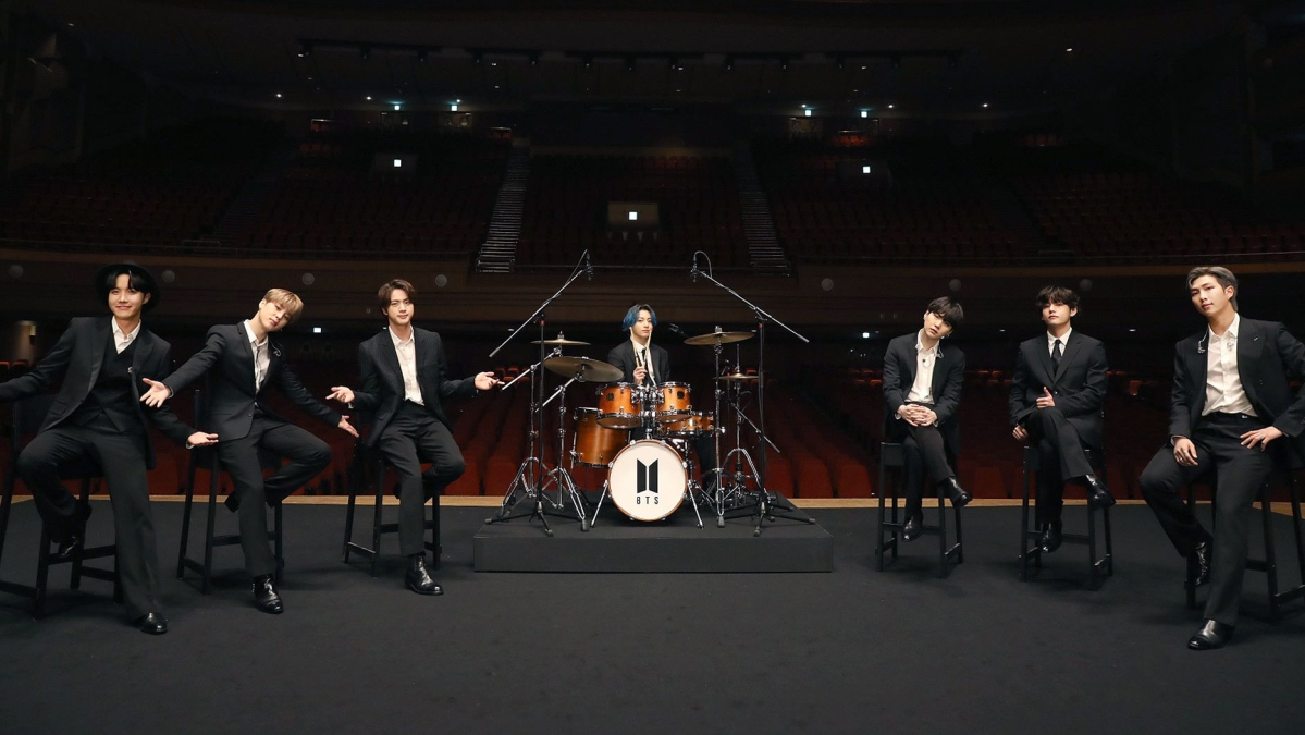 Grammys 2021: Jungkook turns drummer boy as BTS performs 'Dynamite' at MusiCares Concert, watch video