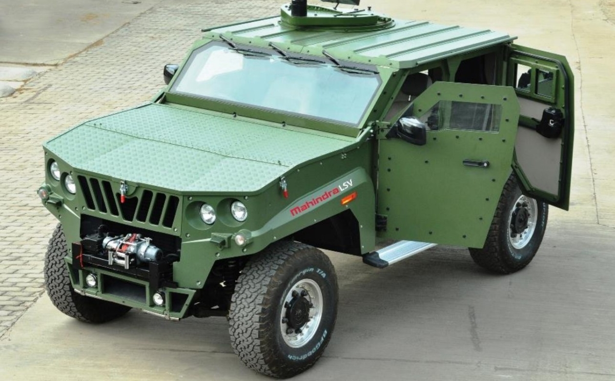 Mahindra Defence wins Rs 1,056 crore contract to manufacture armoured tactical vehicles for Indian Army