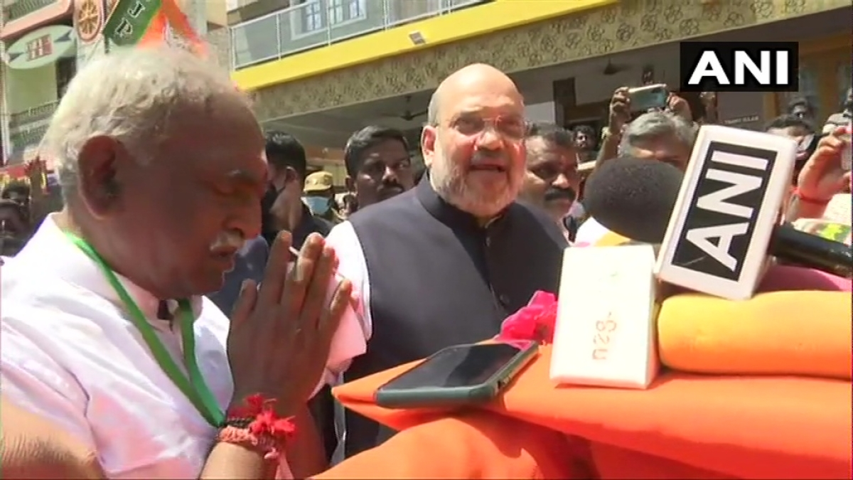'Confident that AIADMK-BJP-PMK government will be formed in Tamil Nadu': Amit Shah in Kanyakumari